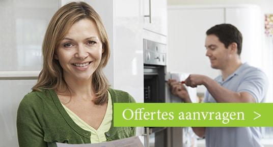 aanvragen offertes keukenrenovatie