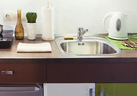 Wasbak Keuken Opbouw : Wilt u uw spoelbak vervangen? kies een rvs kunststof of stenen wasbak!